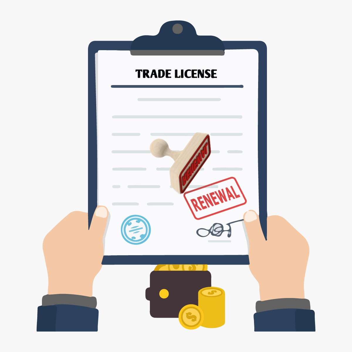 documents for trade license