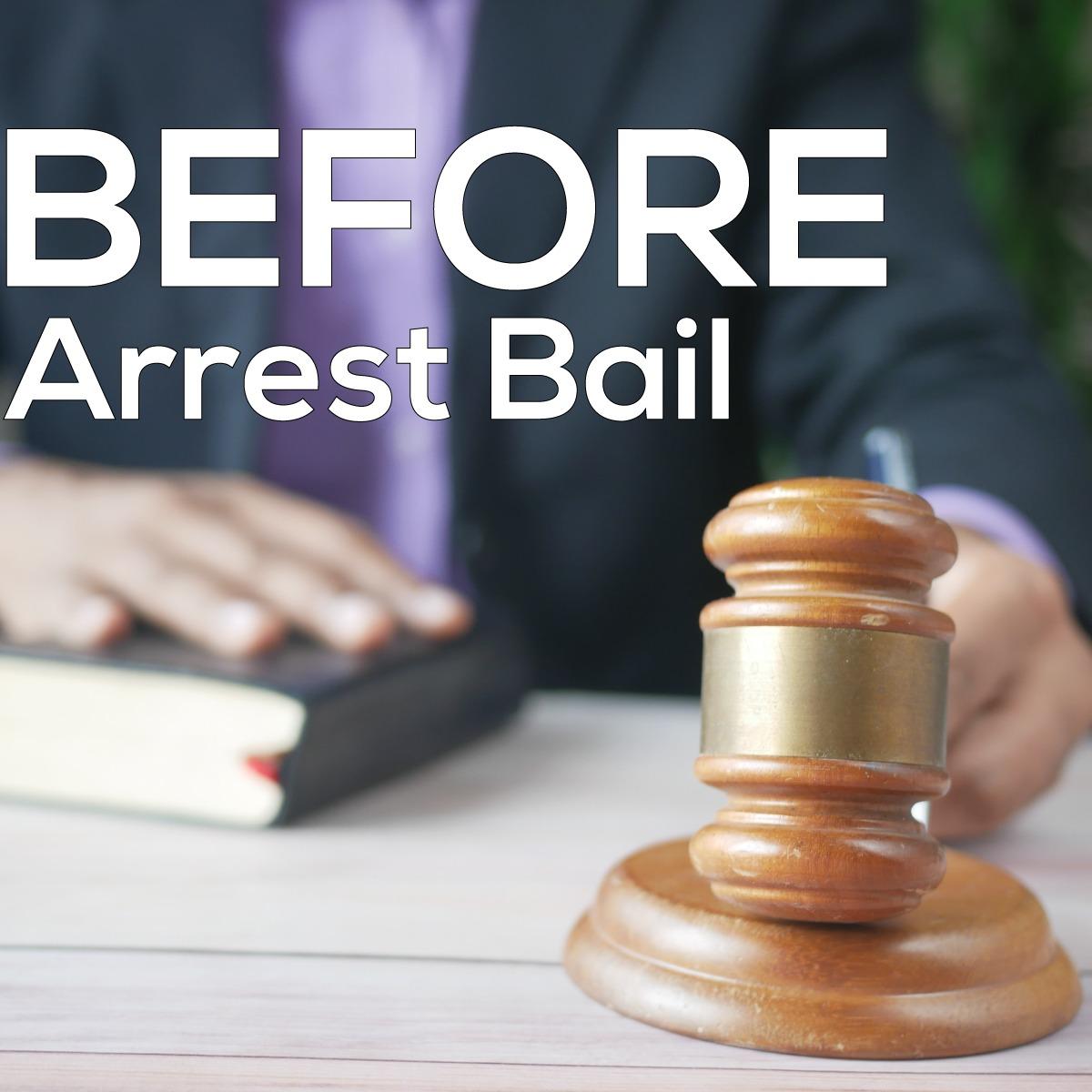 Pre Arrest Bail
