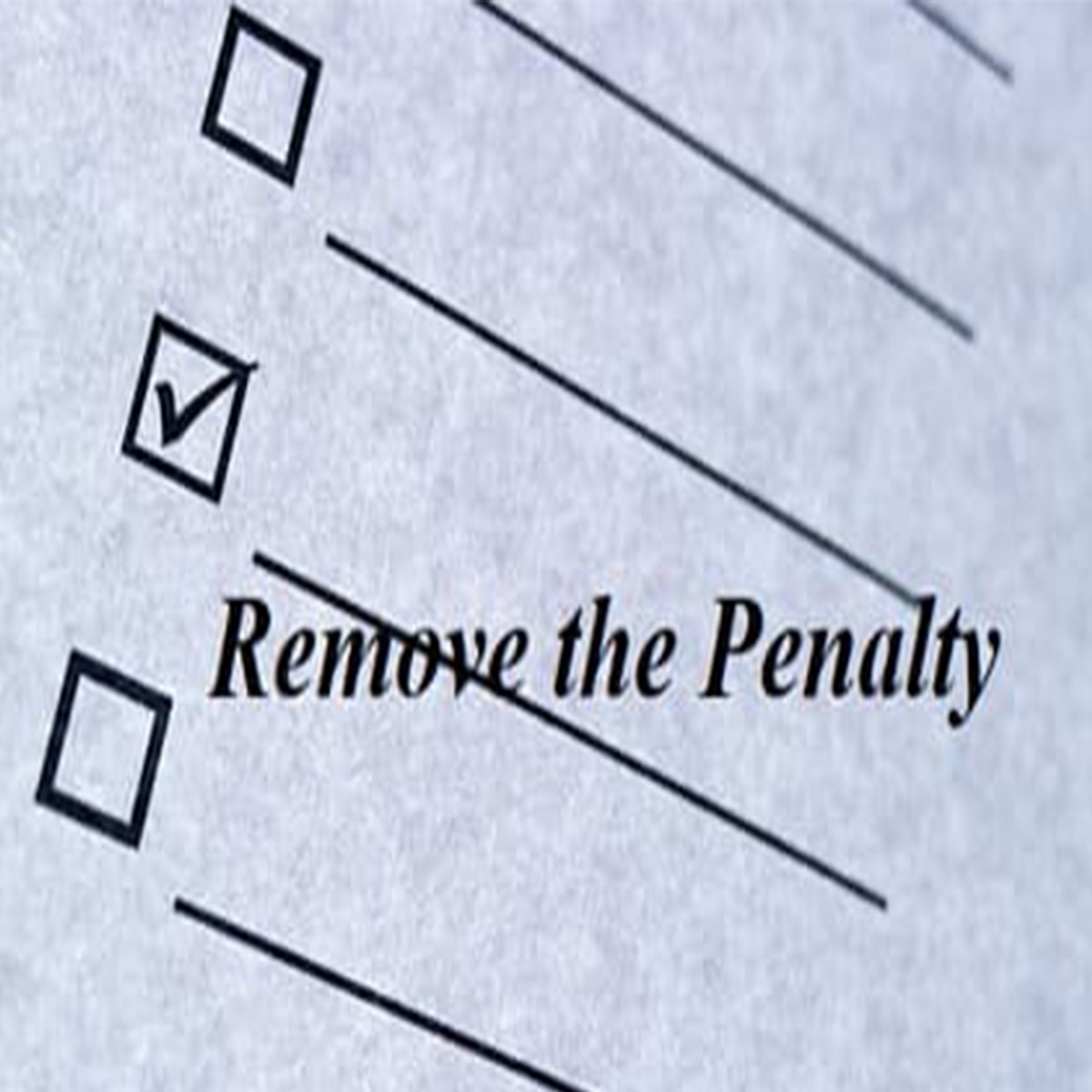 Penalty Removal